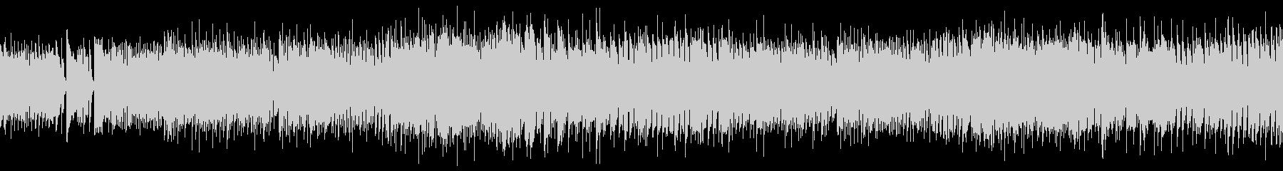 ロックバンド系バトルBGMの未再生の波形