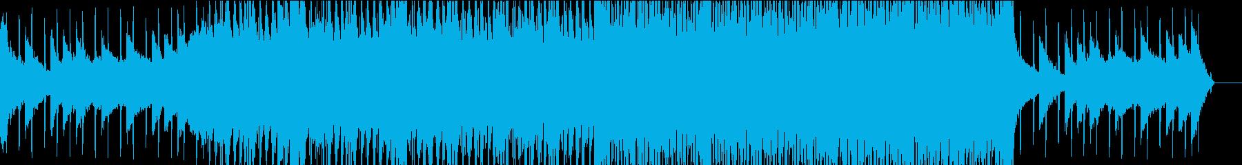 オシャレで抜群にクールなハウスの再生済みの波形