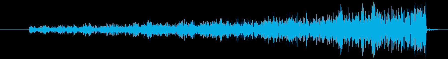 しゅーの再生済みの波形