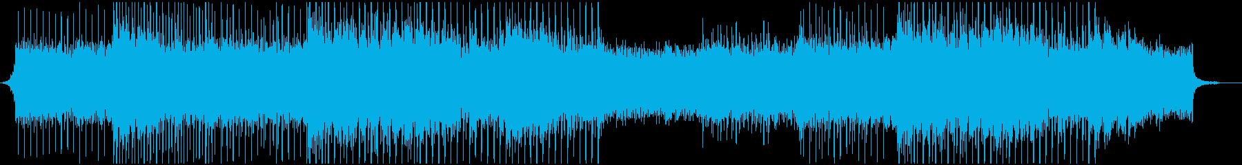企業VP等で ピアノメロで爽やかなBgmの再生済みの波形