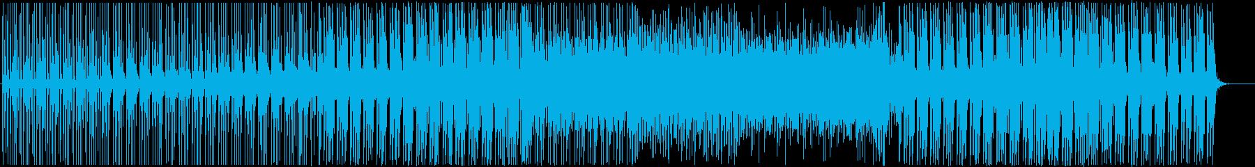 クール-EDM-ハウス-動画-PV-店舗の再生済みの波形