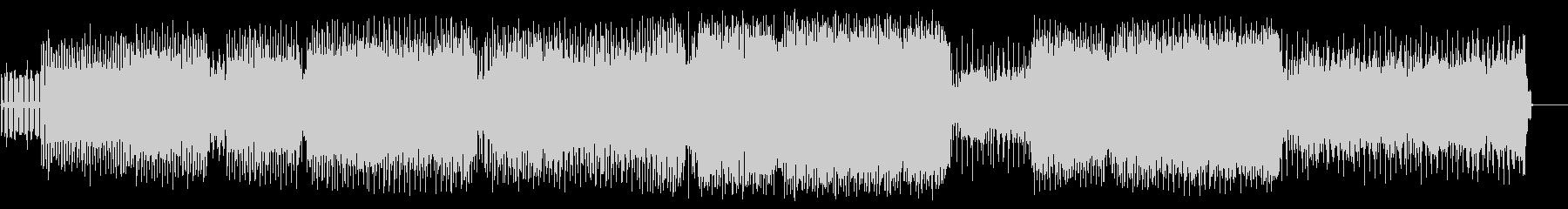 ダンスシーンを疑似体験エレクトロハウスの未再生の波形