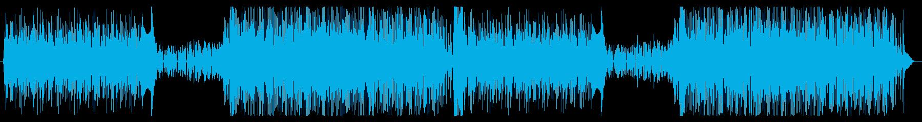フューチャーハウスダンストラックの再生済みの波形