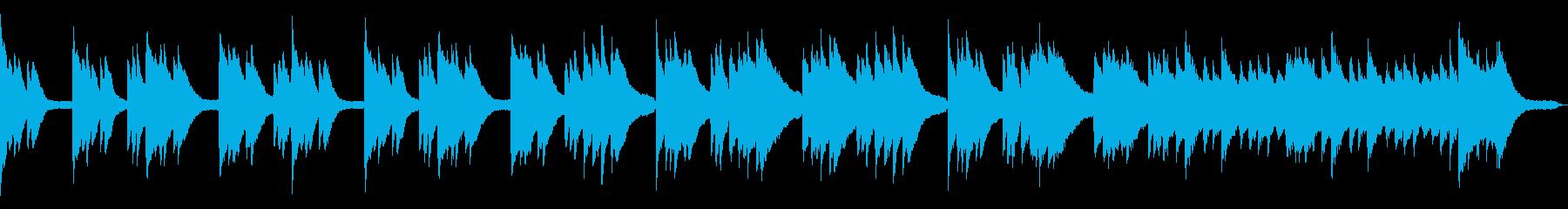 爽やかで使いやすいピアノソロループの再生済みの波形