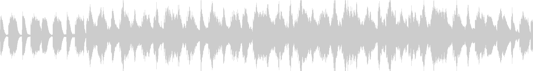 ふわふわシンセのOP、チュートリアル曲の未再生の波形