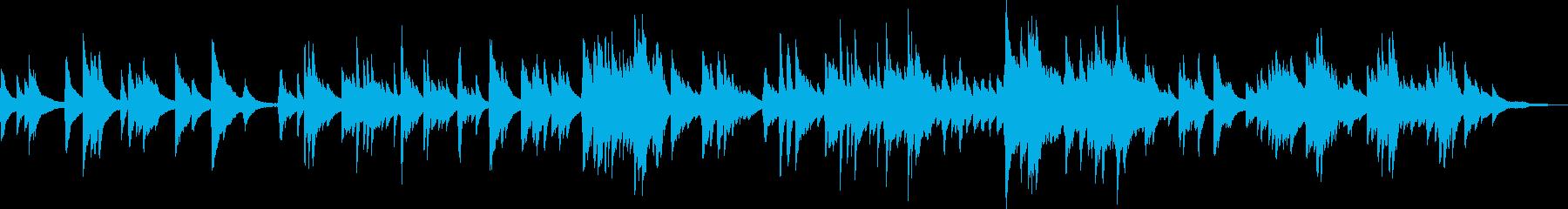 悲しき宿命(ピアノソロ・切ない・BGM)の再生済みの波形