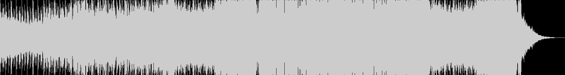 不気味なダブステップの未再生の波形