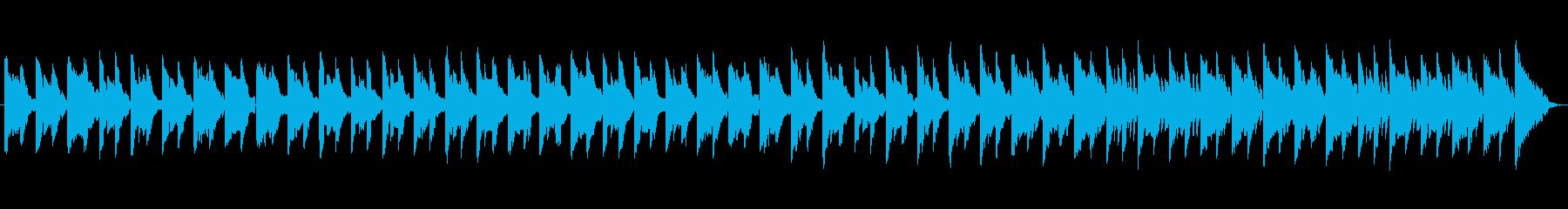 エレクトリックピアノ、ローギター、...の再生済みの波形