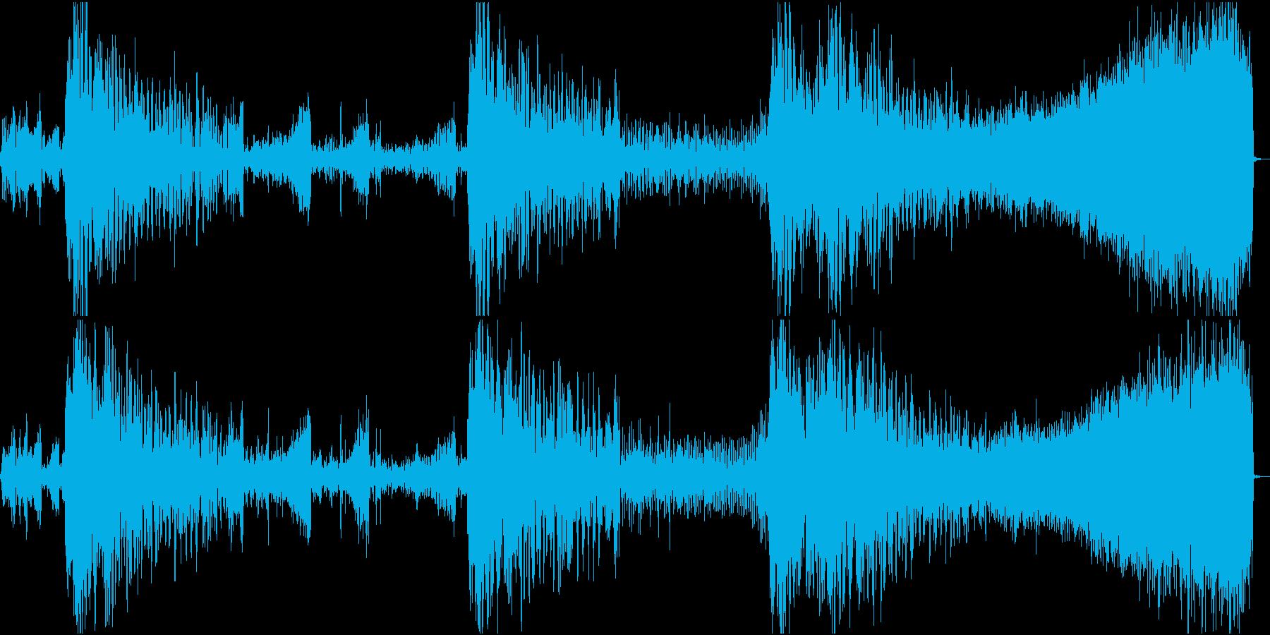 FMラジオ的ジングル3の再生済みの波形
