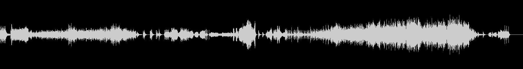 ベルと弦のしっとりとしたアンサンブルの未再生の波形
