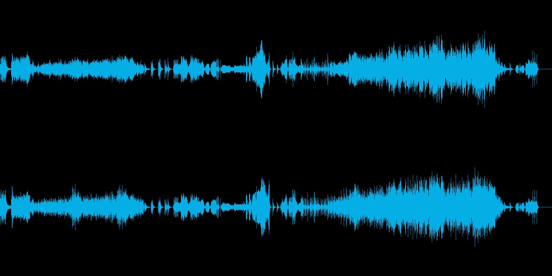 ベルと弦のしっとりとしたアンサンブルの再生済みの波形