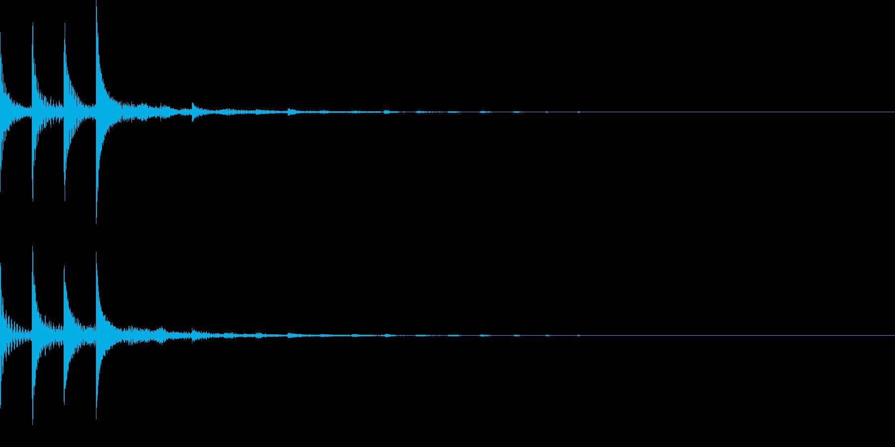 ピコポコ(テクノ宇宙SF/アイキャッチの再生済みの波形