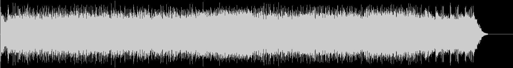 お洒落な6/8拍子ポップ・フュージョンの未再生の波形