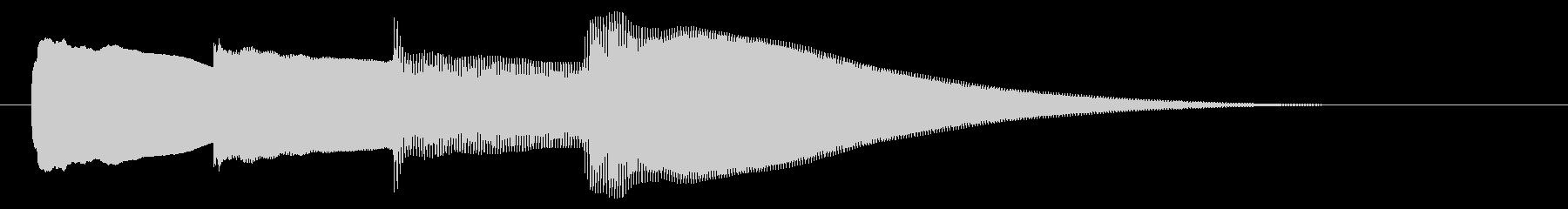 チャイム アナウンス07-4の未再生の波形