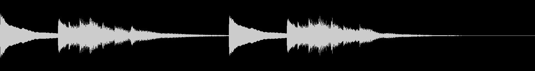正月!琴!一番有名な曲のジングル版2の未再生の波形