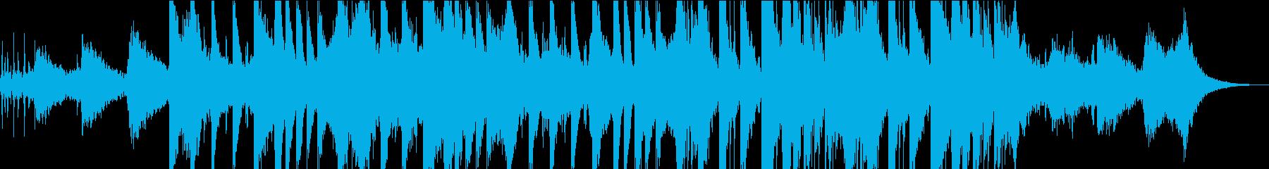 神秘的な雰囲気のエキゾチックなサウンドの再生済みの波形
