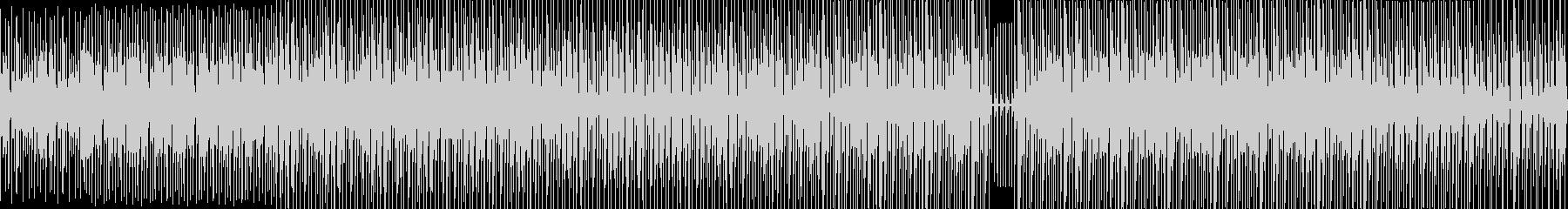 【ループ対応】ビートのみのアップテンポ曲の未再生の波形