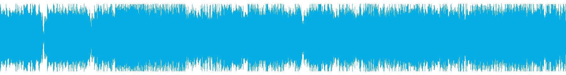 ループ素材 勇壮な疾走系チップチューンの再生済みの波形