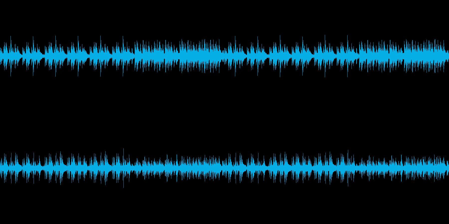 ピアノとグロッケン 優しい読み聞かせ系の再生済みの波形