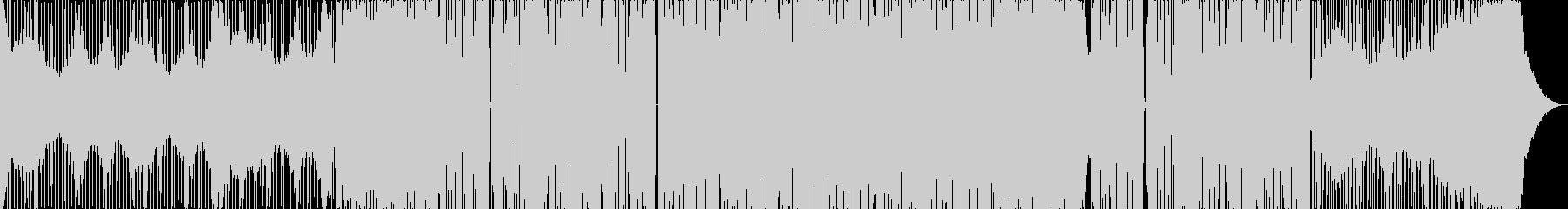 アッパーなドラムンベースの未再生の波形