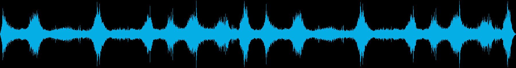 ミディアムオーシャンウェーブスアン...の再生済みの波形