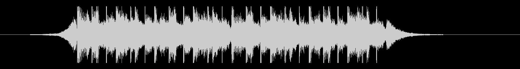 ラマダン(15秒)の未再生の波形