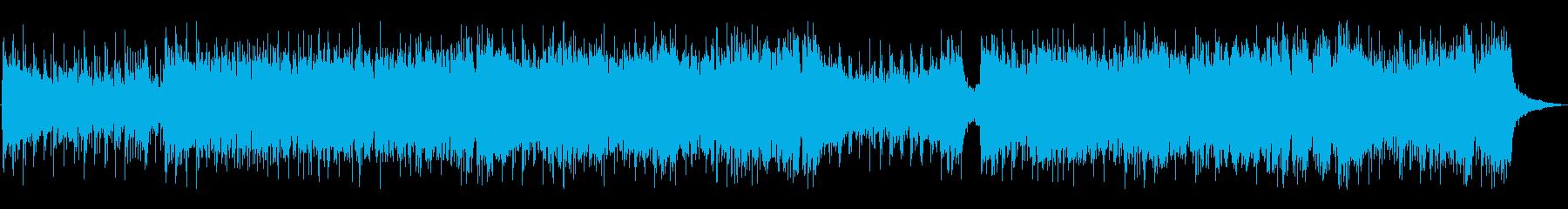 中華風のEDMの再生済みの波形