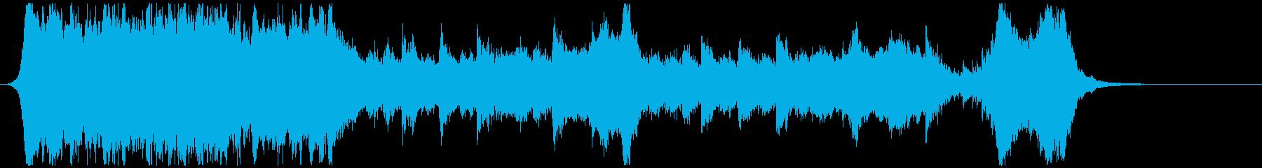 ハリウッド映画風の壮大なオーケストラCの再生済みの波形