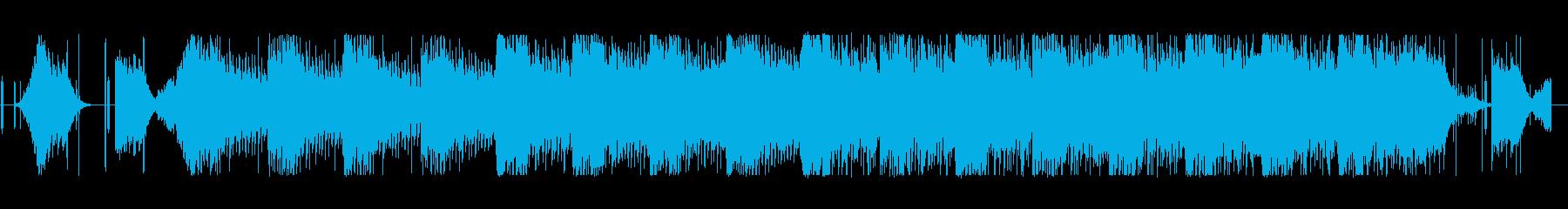 未知なる生命体を思わせるミステリアスな曲の再生済みの波形