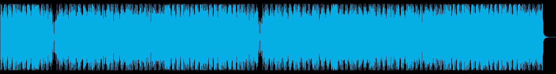 哀愁の漂うメロディーが印象的なEDMの再生済みの波形