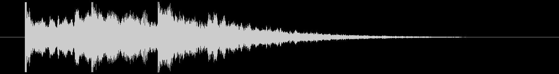 清涼感あるサウンドロゴ_ベル系_05の未再生の波形