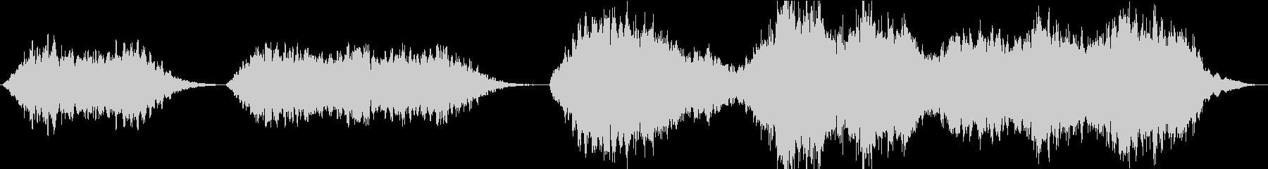 神聖な雰囲気のコーラス(聖歌隊)の未再生の波形