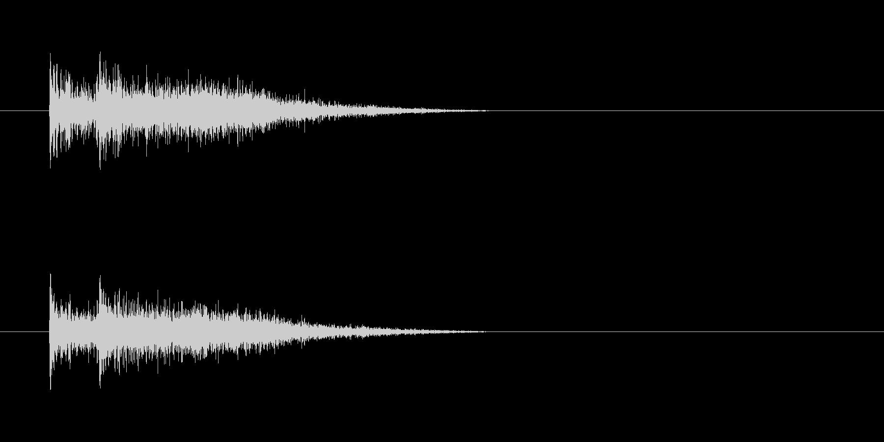 デデン(登場)の未再生の波形