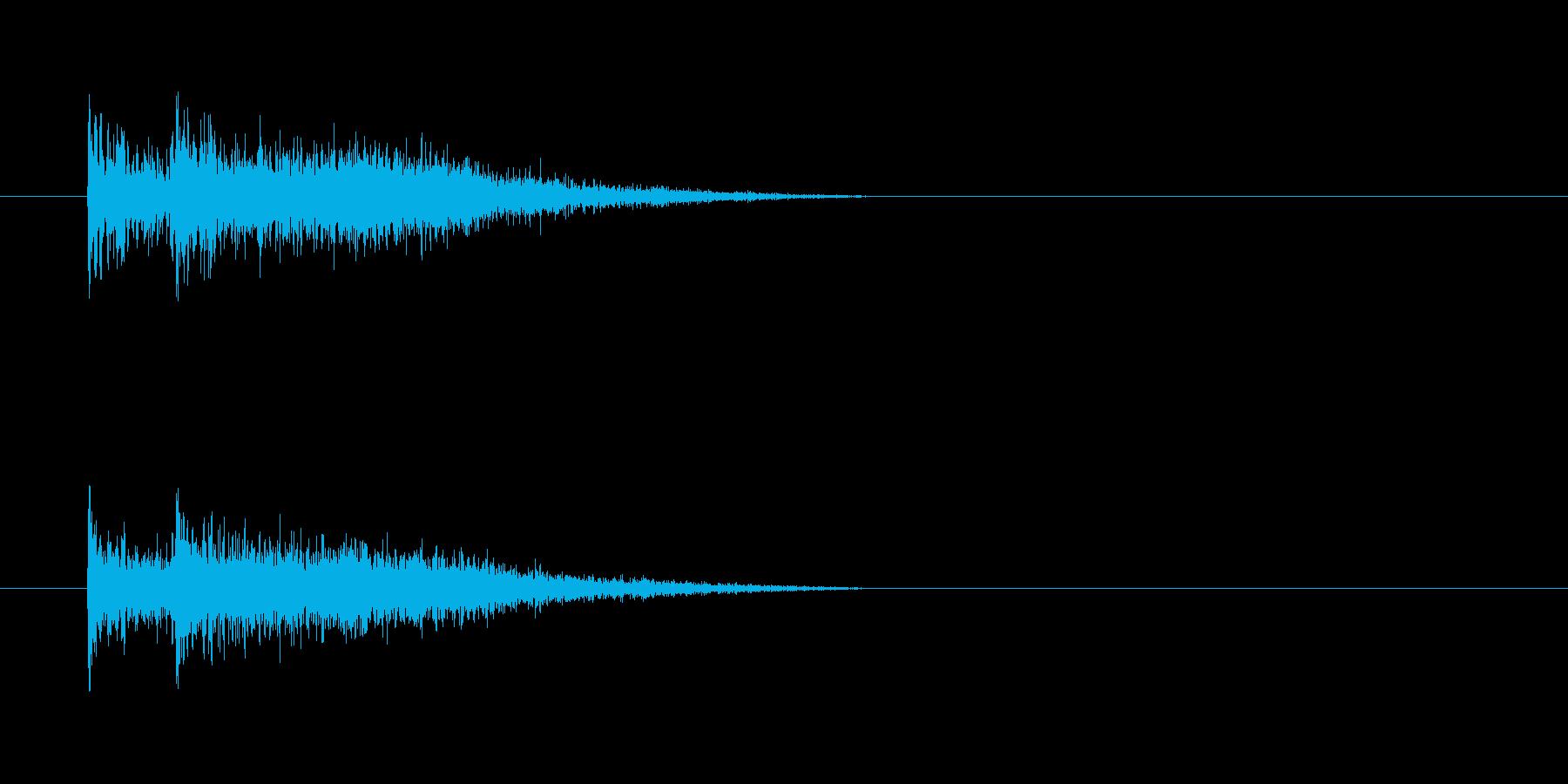 デデン(登場)の再生済みの波形