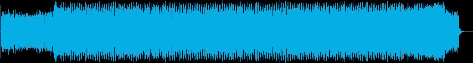 ロシア風パワフルトランス!の再生済みの波形