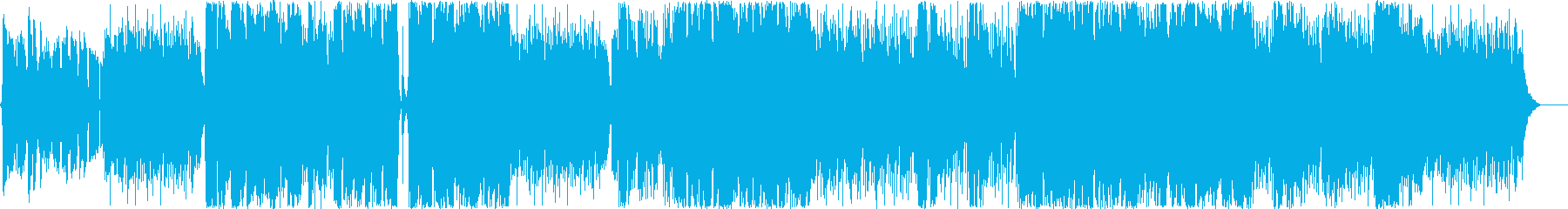 ピアノと歌のほんわかポップの再生済みの波形