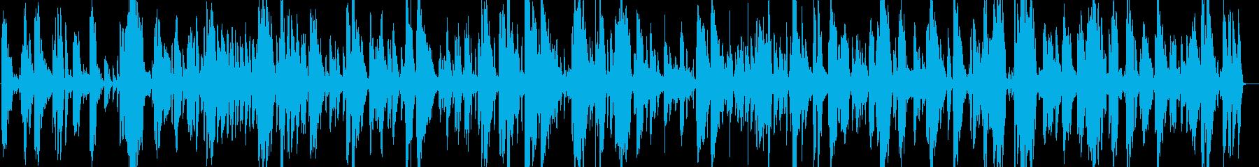 爽やかかっこいい疾走感トランペットジャズの再生済みの波形
