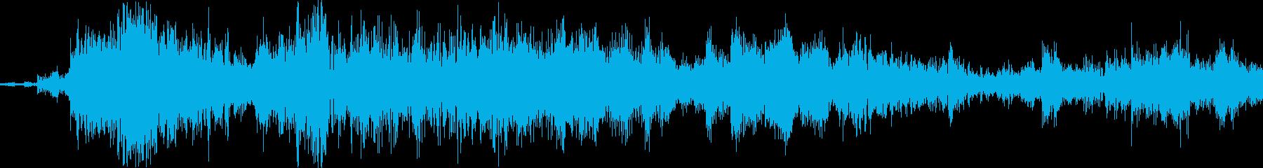 鎖鎌の鎖が鳴るの再生済みの波形