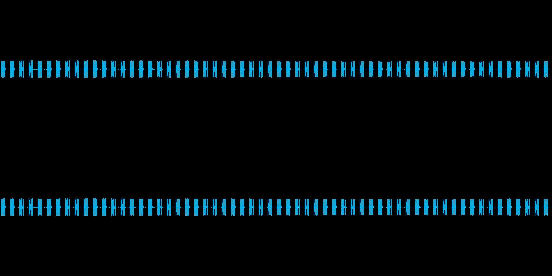 タイマーの目覚まし時計のビープ音(...の再生済みの波形