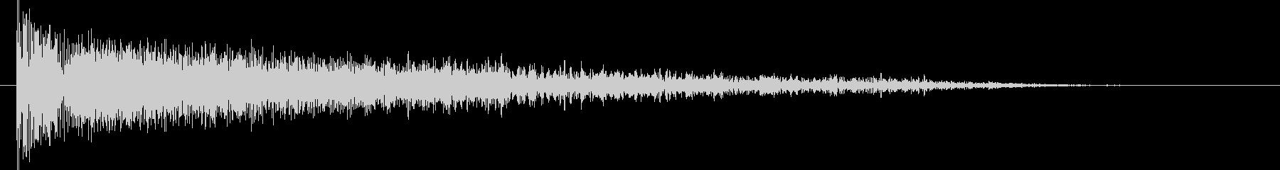 衝撃 歪んだ爆発ステレオ01の未再生の波形