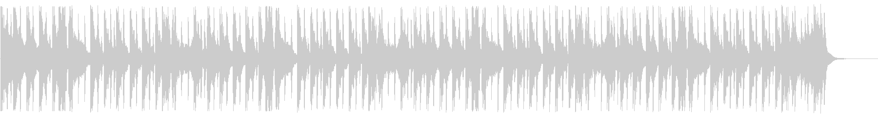 サイバーなディープハウス_No679_4の未再生の波形