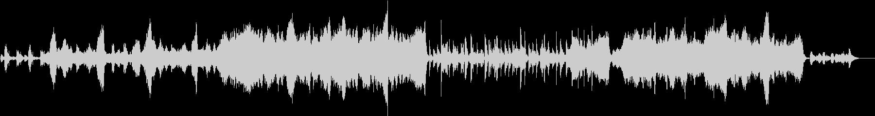 グリーンスリーブス(弦楽四重奏)の未再生の波形