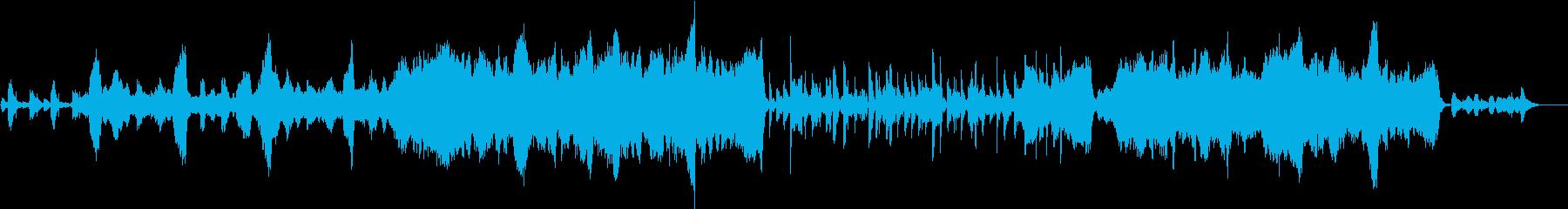 グリーンスリーブス(弦楽四重奏)の再生済みの波形