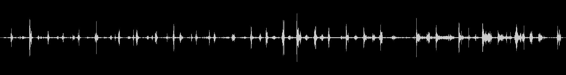 ショールスノーウィズメタルショベル...の未再生の波形