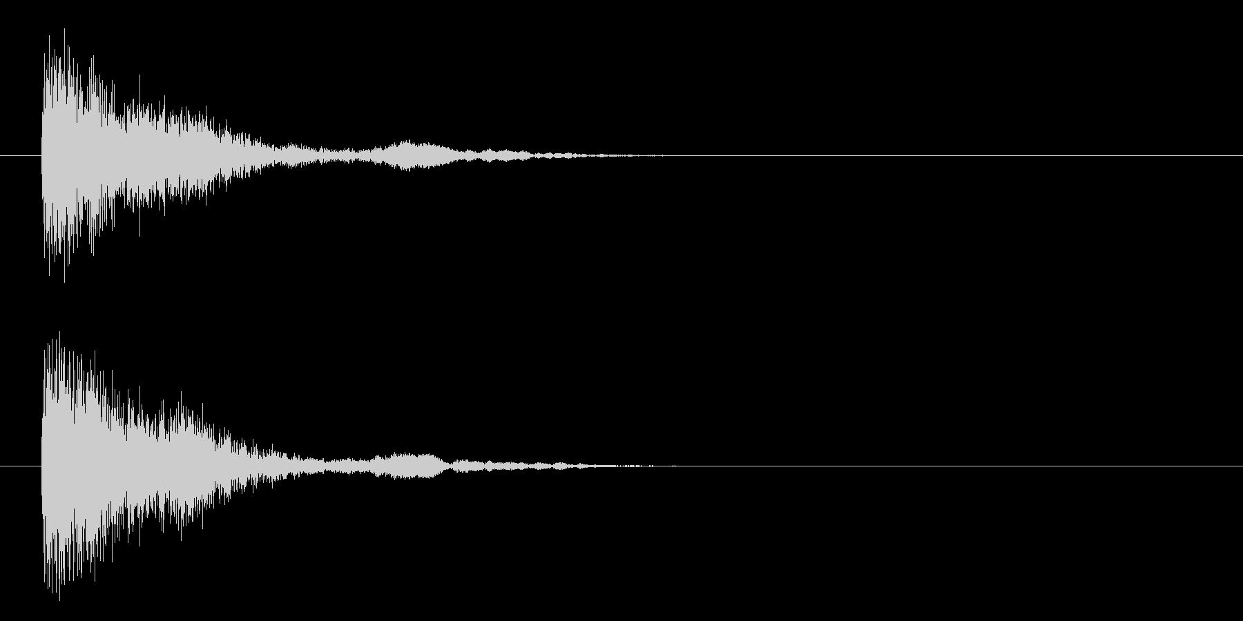 トゥイーンクォーの未再生の波形