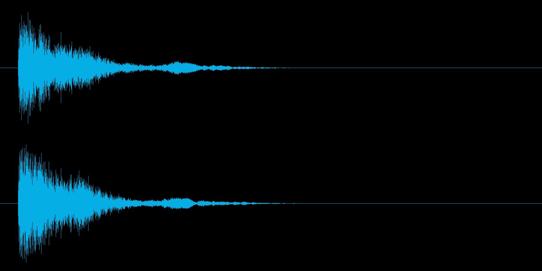 トゥイーンクォーの再生済みの波形