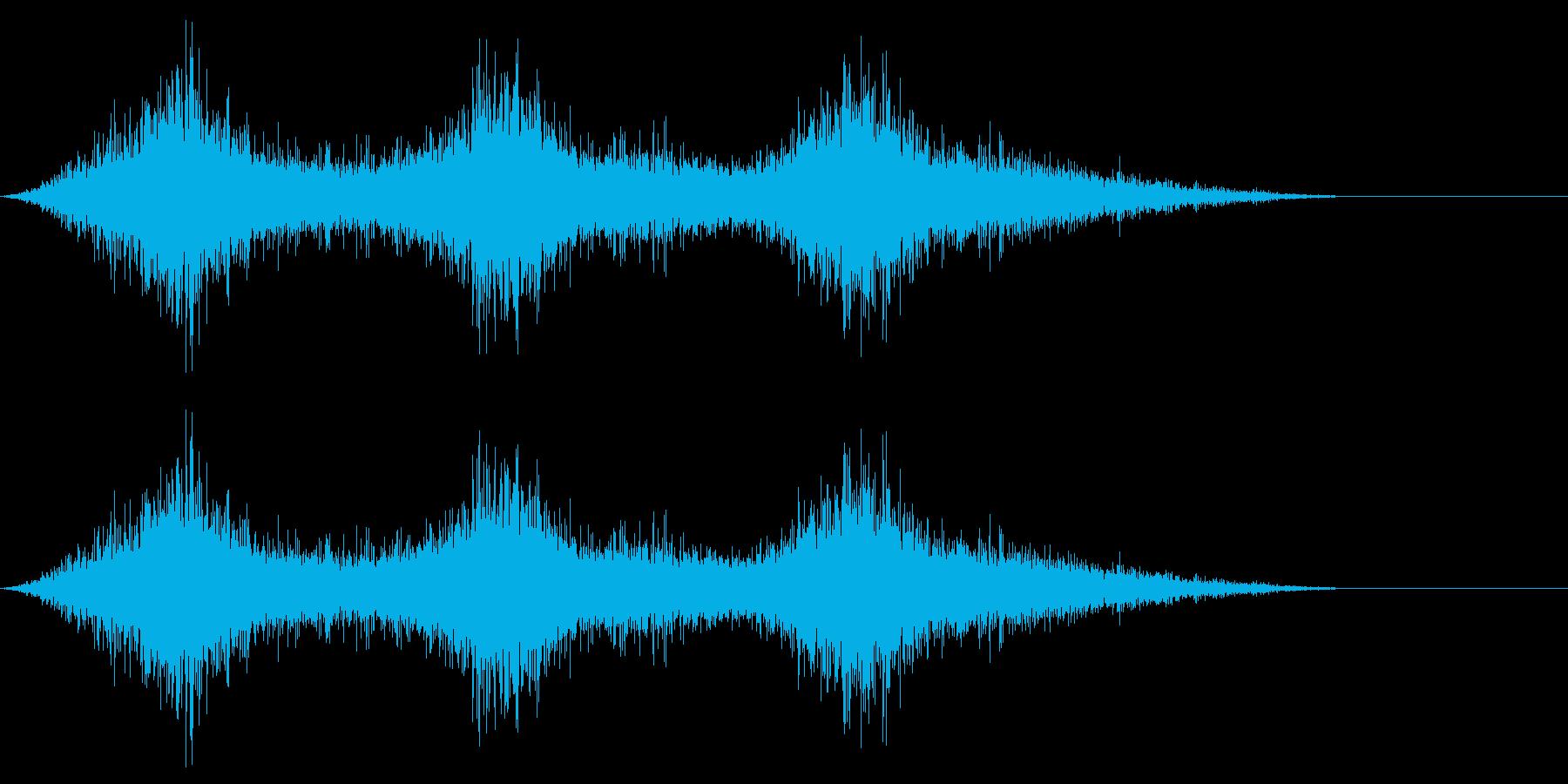 怪しい通気口の再生済みの波形