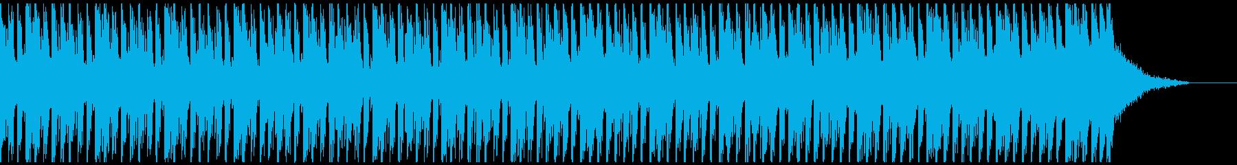 オシャ4つ打ち、スタイリッシュ雰囲気系7の再生済みの波形