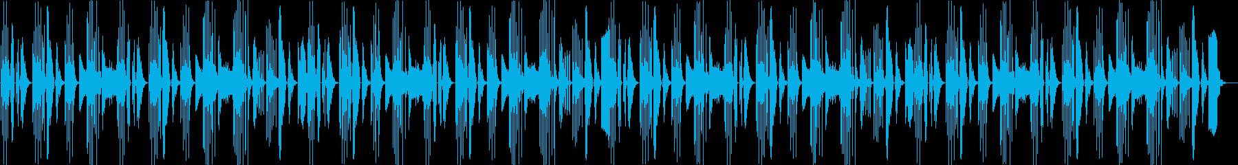 あんにゅいな曲ですの再生済みの波形