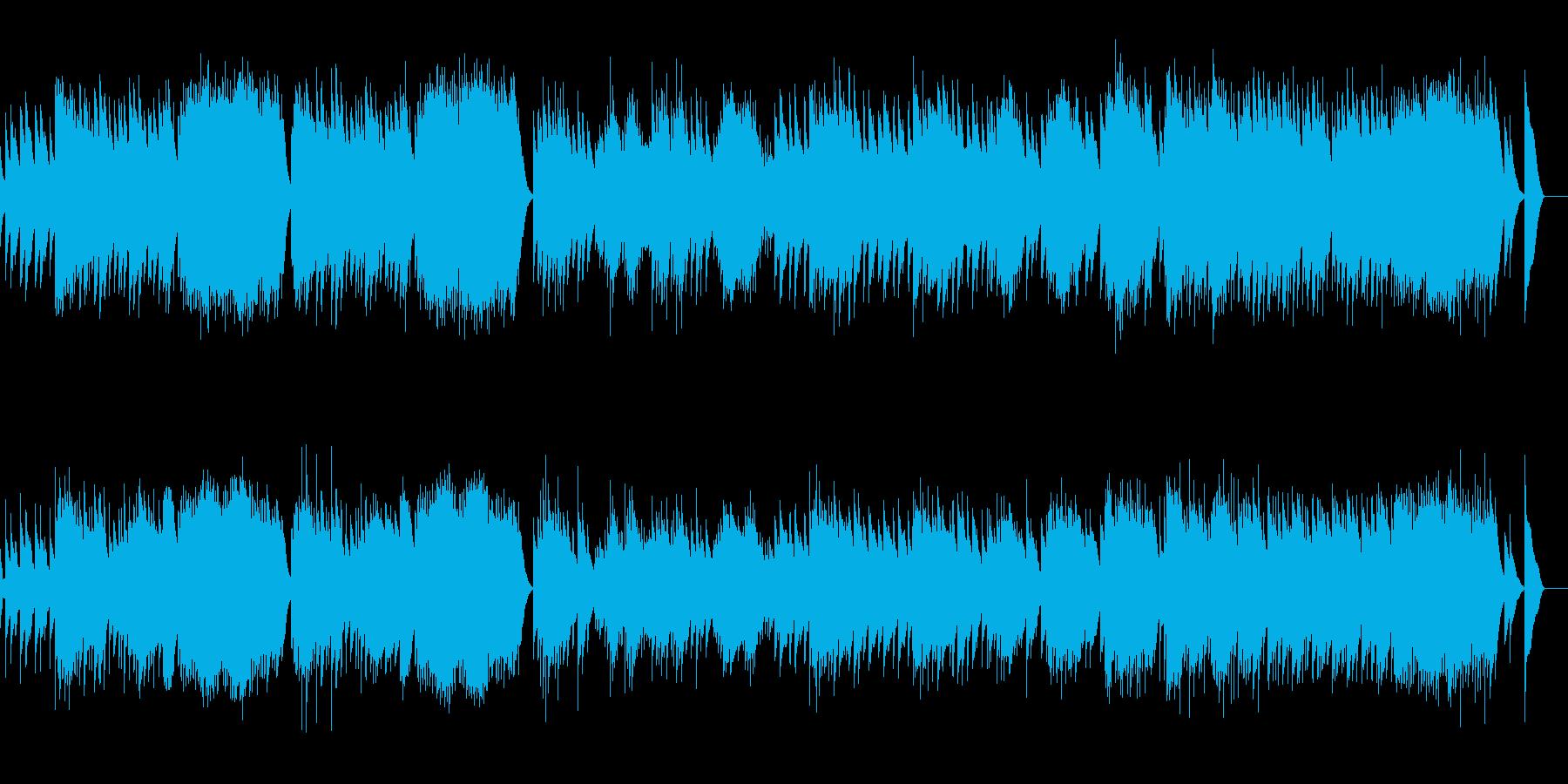 3. アニトラの踊り (オルゴール)の再生済みの波形